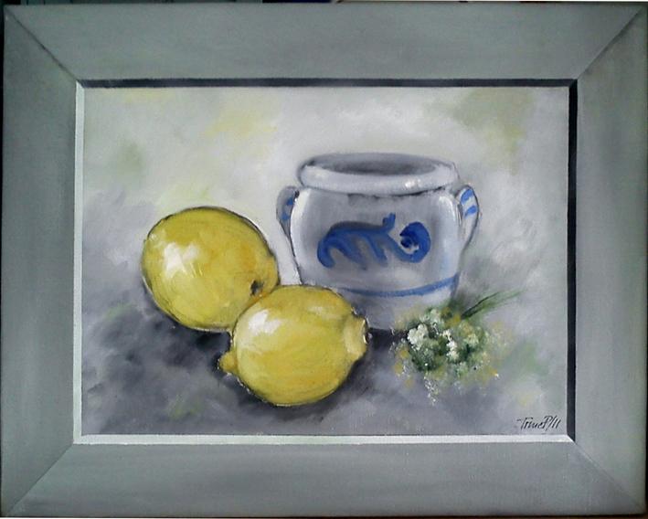 Citroner i ramme